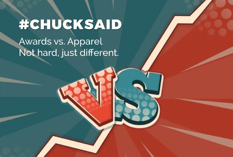 Awards vs Apparel