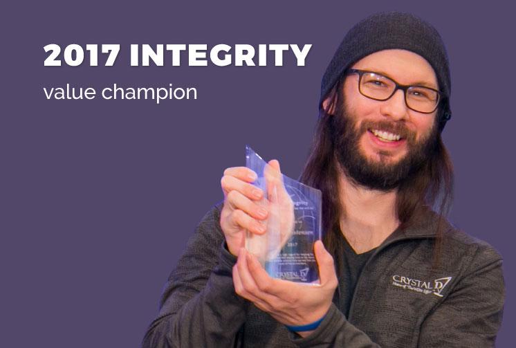 Integrity Value Champion