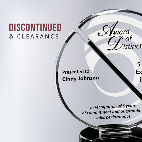 Discontinued & Clearance Awards