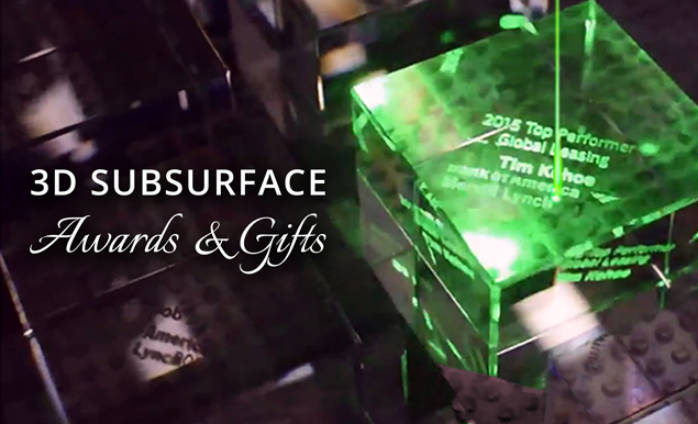 3D Subsurface Awards and Gifts