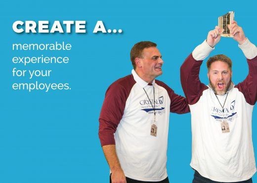 Create a memorable experience for your employees.