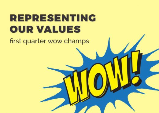 First Quarter WOW Champs