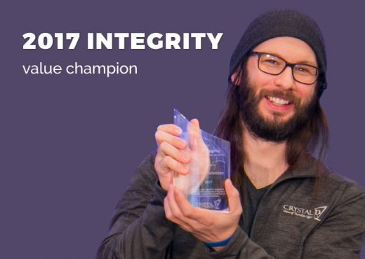 Integrity Value Champion
