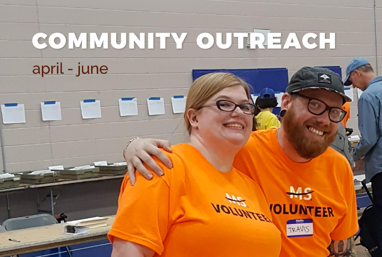Community Outreach April-June