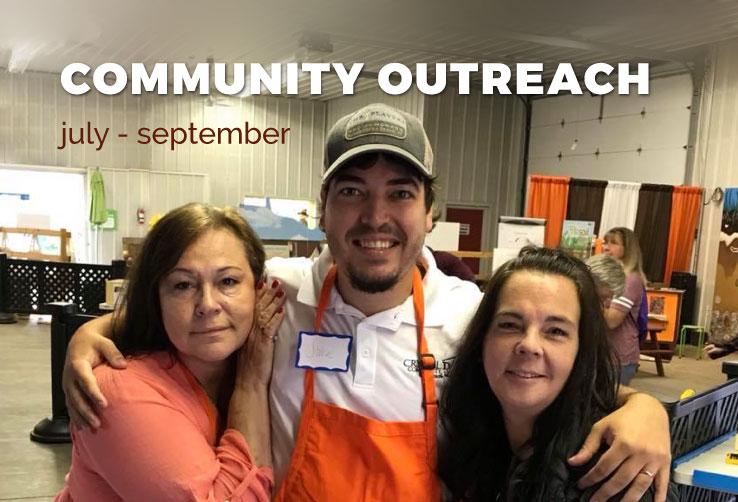 Community Outreach July-September