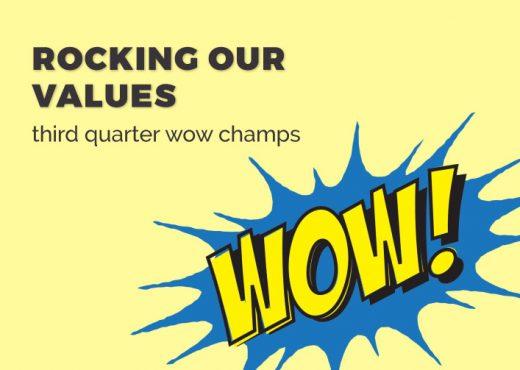 Third Quarter WOW Champs