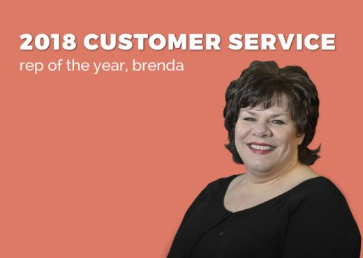 Brenda Peralta, SGR Customer Service Rep of the Year