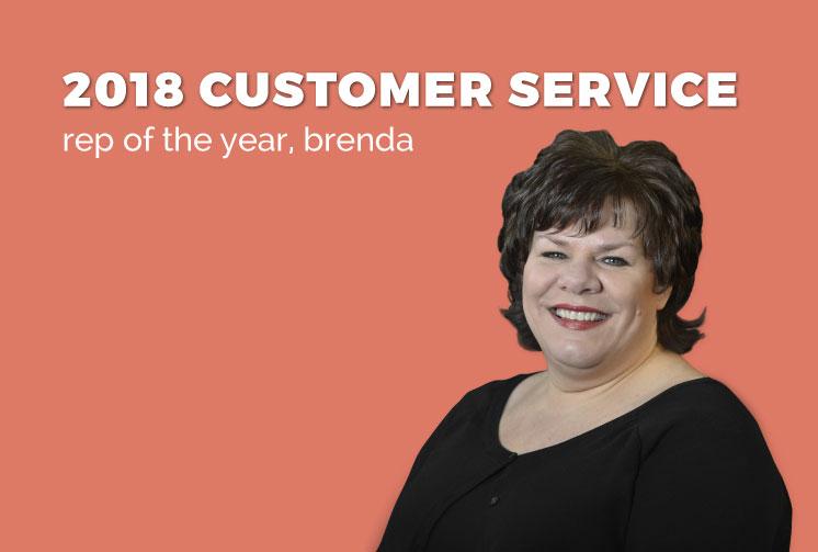 Brenda Peralta, SGR Customer Service Rep of the Year