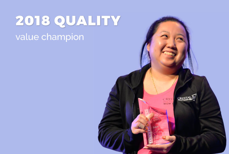 Linda Chang, Quality