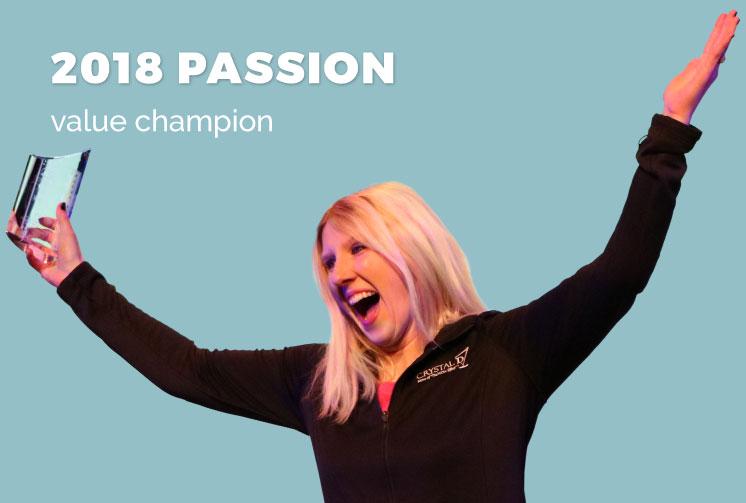 Liz Bauer, Passion