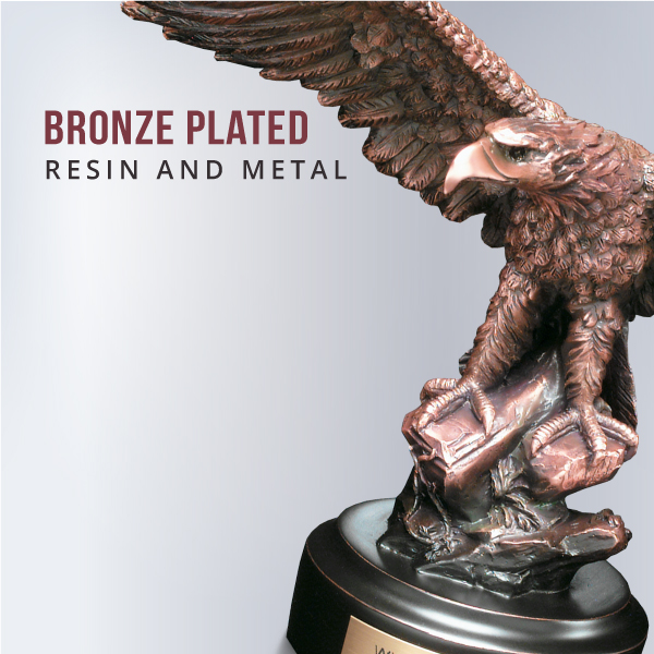 Bronze Plated Resin and Metal