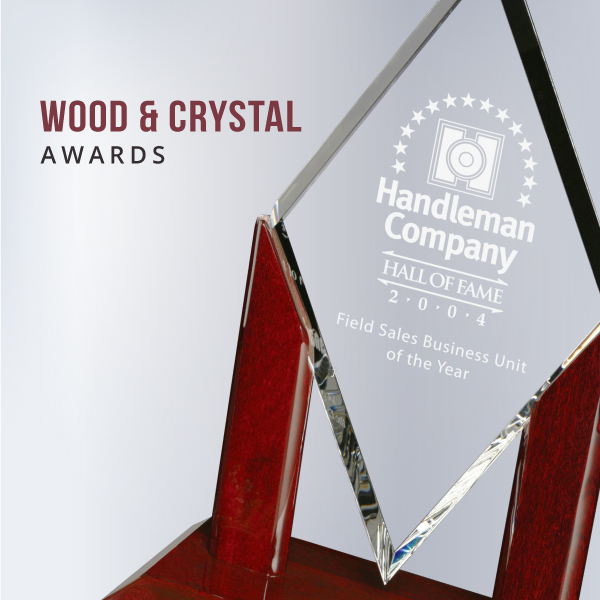 Wood & Crystal Awards