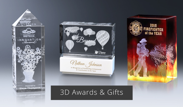 3D Subsurface Awards & Gifts