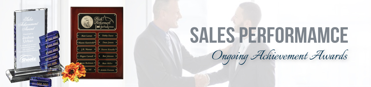 Sales Achievement Banner