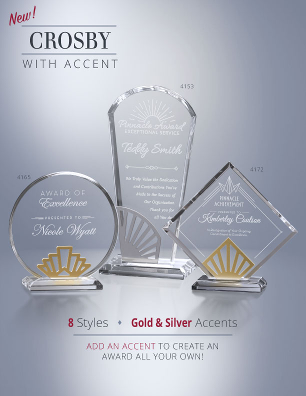 Crosby Awards with Accents Flyer
